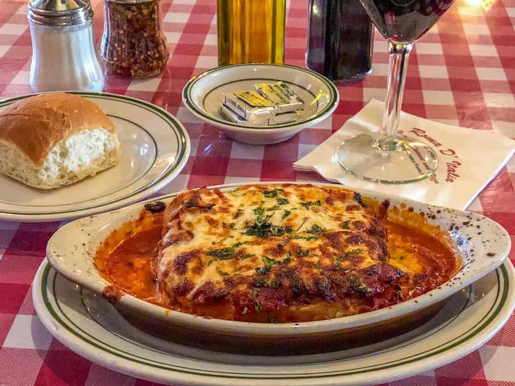 Italian food Tustin CA