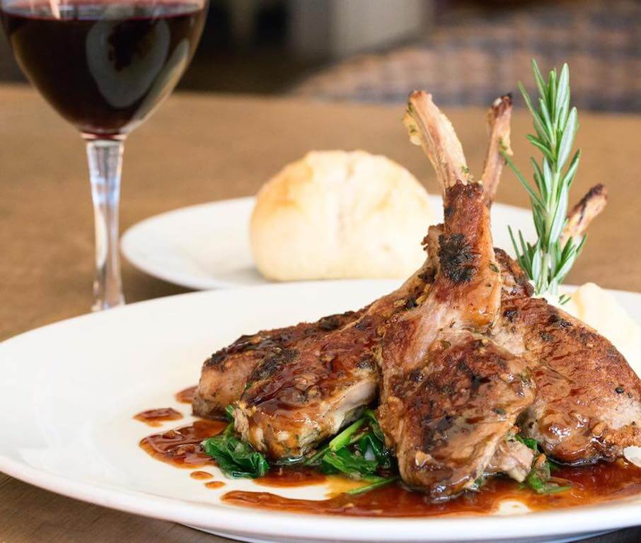 grilled lamb chops Tustin CA restaurants