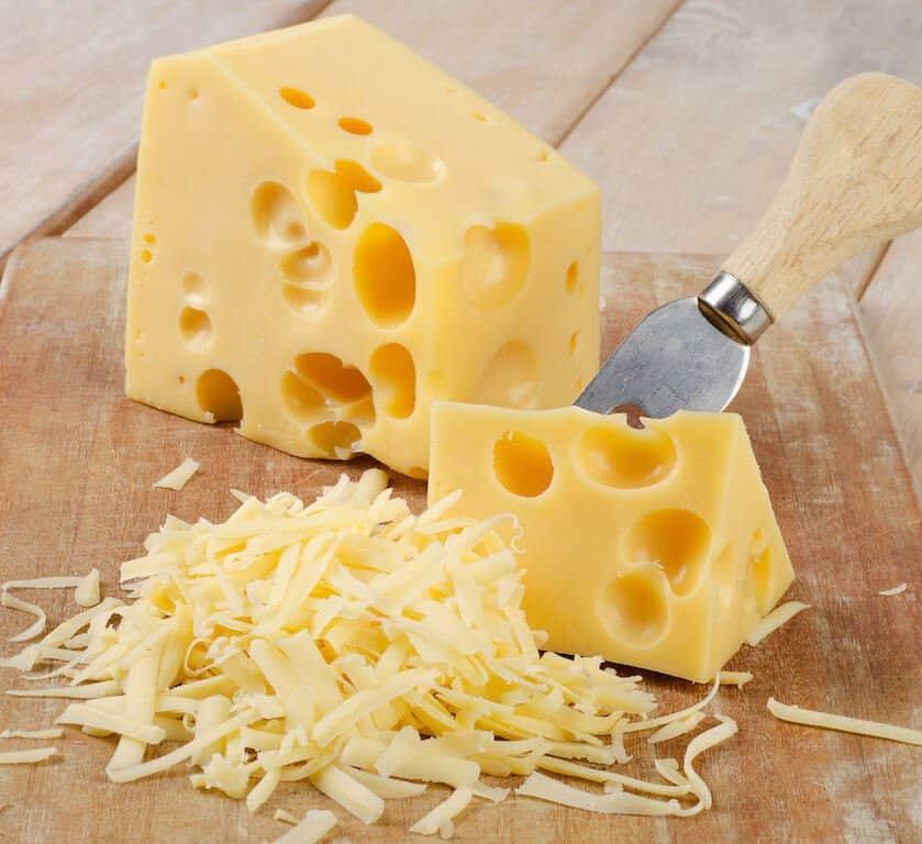 Swiss cheese Switzerland food