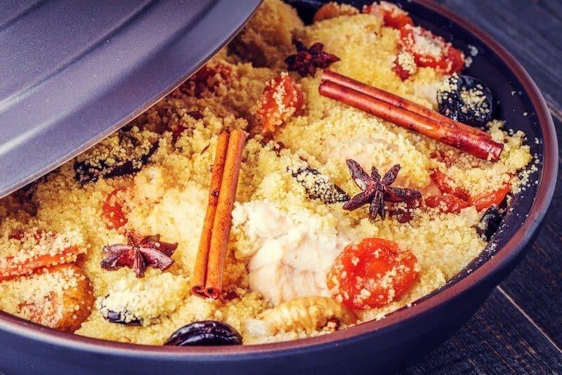 moroccan couscous tagine