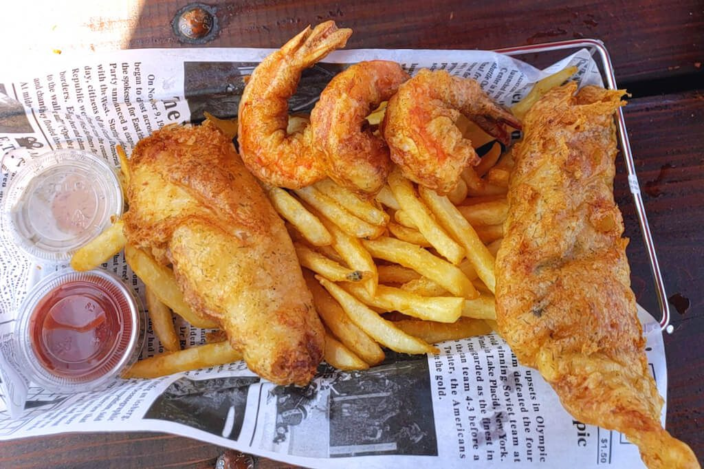 Ft Bragg seafood restaurants