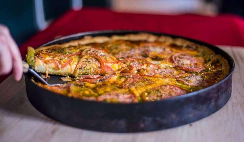 best Chicago deep dish pizza