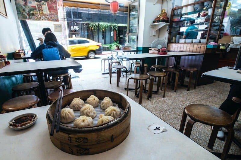Xiao Long Bao Taiwanese food