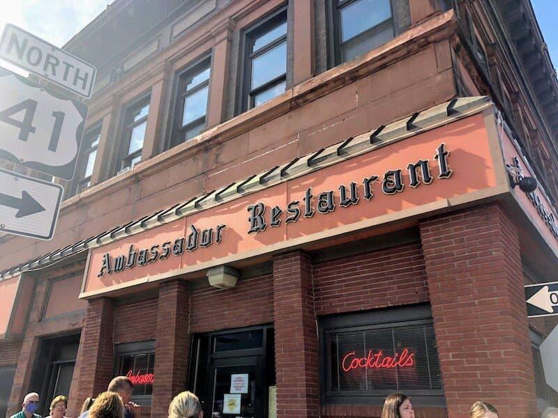 Upper Peninsula Restaurants:  Ambassador Restaurant