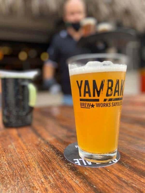YamBak craft beer