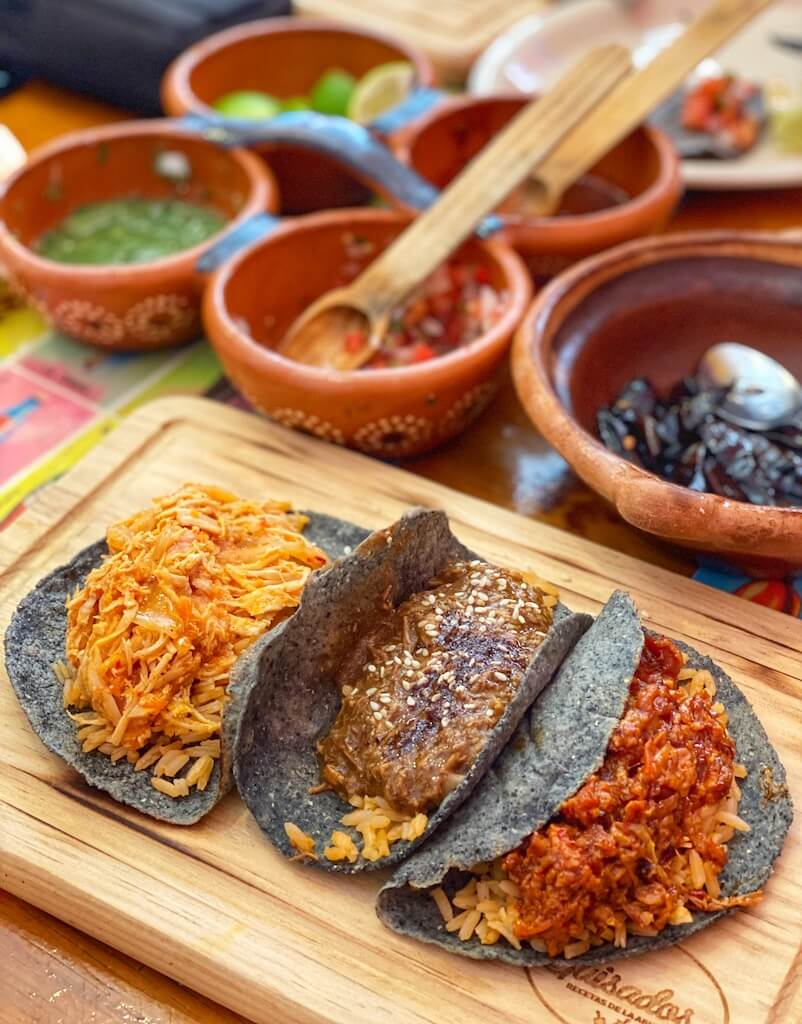 tacos and salsas