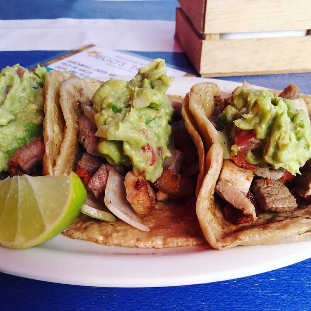 tacos in Cozumel