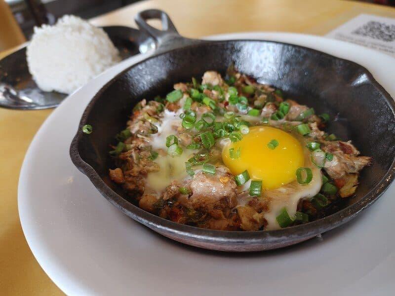 sisig Filipino food Vallejo best restaurants