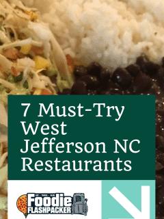 7 Must-Try West Jefferson NC Restaurants