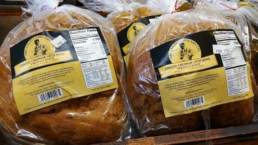 Best Half Moon Bay Coastside Restaurants:   Artichoke Bread