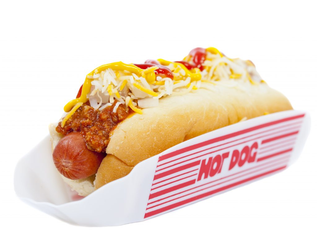 Seven Must-Try Barracks Row Restaurants: All-Beef Dog with Beef Chili