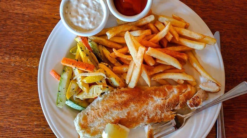 Best Half Moon Bay Coastside Restaurants:   Fish and Chips