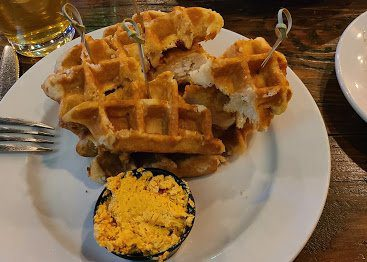 8 Boone NC Restaurants: Mini-chicken and Waffles Plate