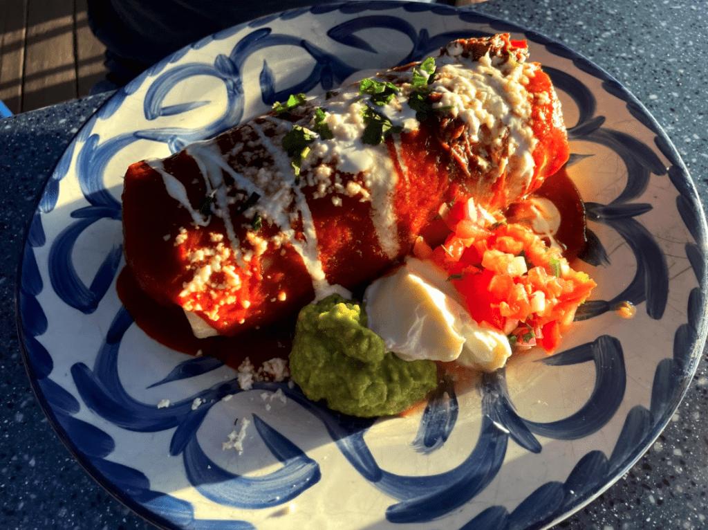 Frida's Mala burrito - lahaina restaurants favourite