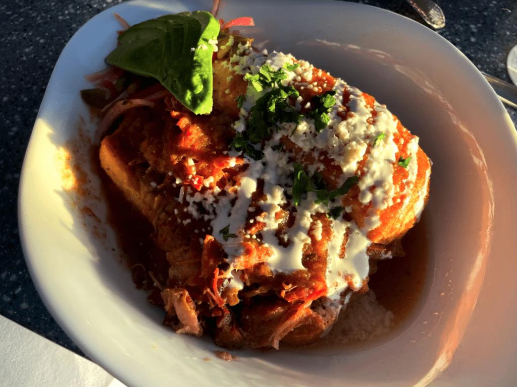 Frida's torta ahogada is one of the best amongst the lahaina restaurants