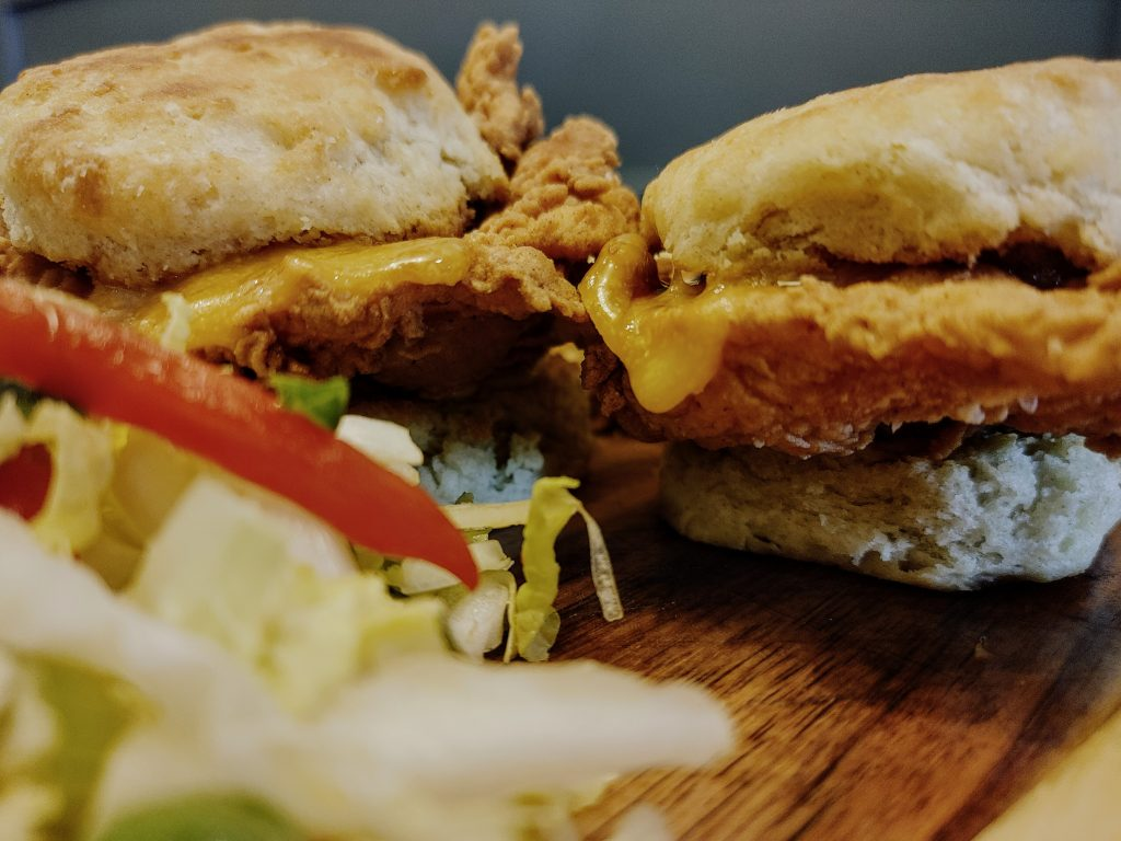 8 Must-Try Danville Restaurants:  Fried Mary's Chicken Breast & Buttermilk Biscuit Sliders
