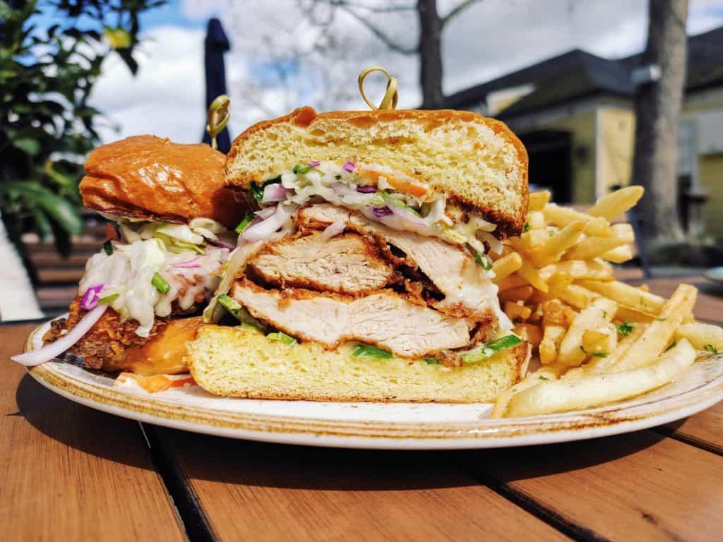 8 Must-Try Danville Restaurants: Fried Chicken Sandwich