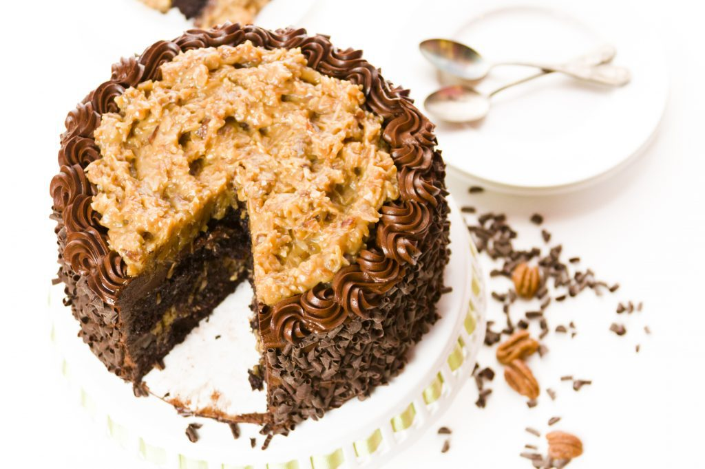 Eight Must-Try Restaurants in Bainbridge: German Chocolate Cake