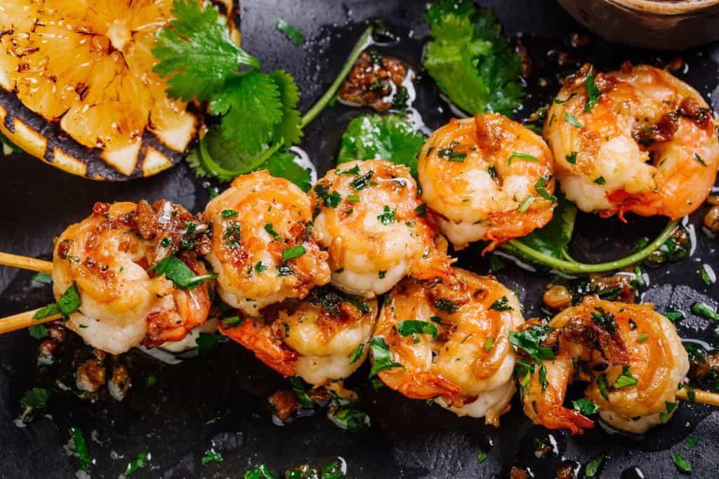 13 Must-Try La Paz Restaurants: Grilled Shrimps
