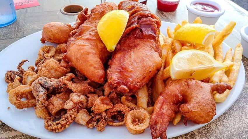 Best Half Moon Bay Coastside Restaurants: Seafood Sampler