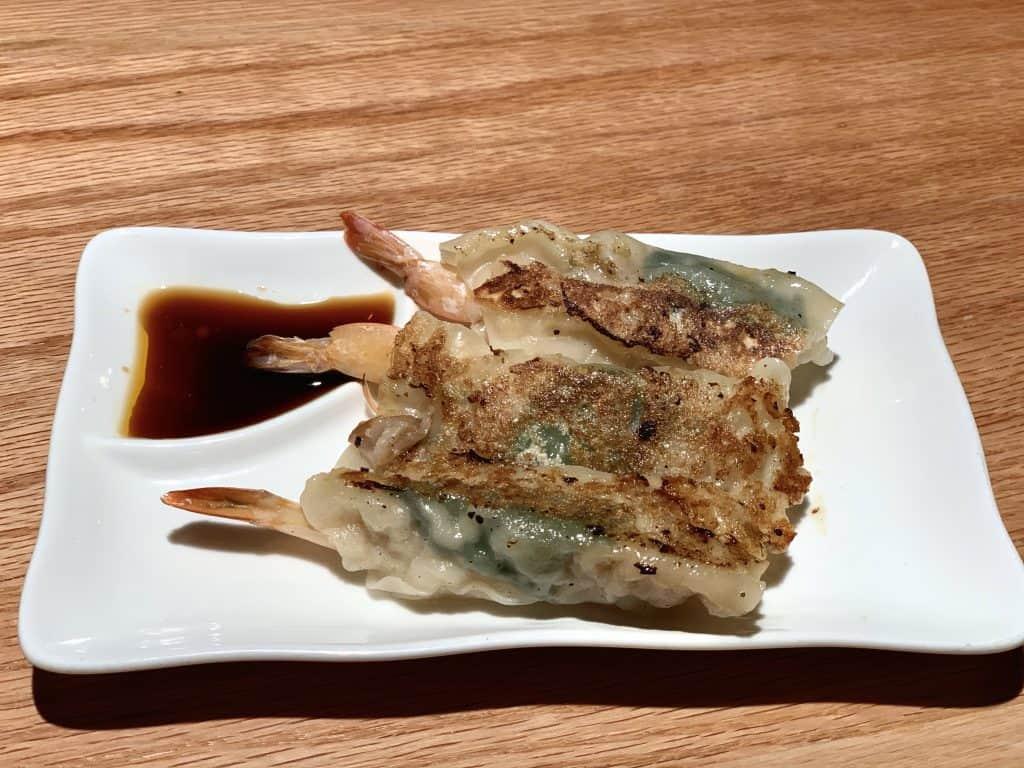7 Must-Try D.C. Navy Yard Restaurants:   Gyoza Shrimp and Pork