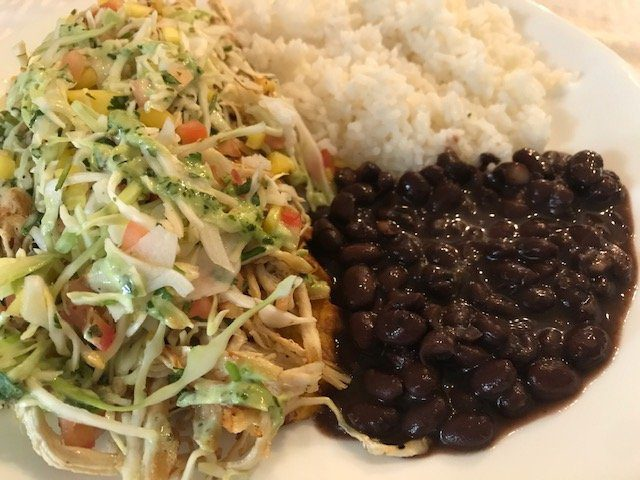 7 Must-Try West Jefferson NC Restaurants Black Beans and Rice with Fried Plantains