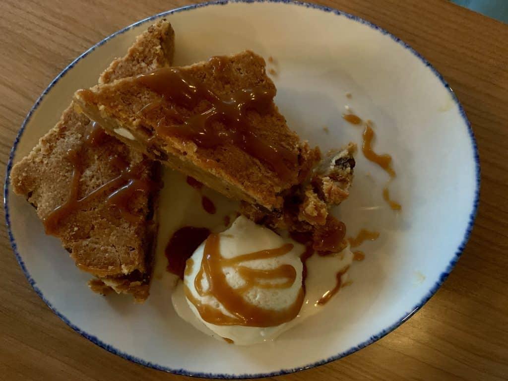 Eleven Great Restaurants On Daniel Island:  Blondie with mesquite ice cream