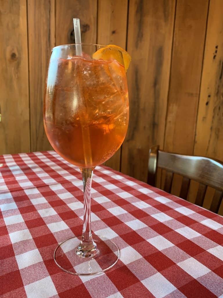 Eleven Great Restaurants On Daniel Island:    Padua Spritz