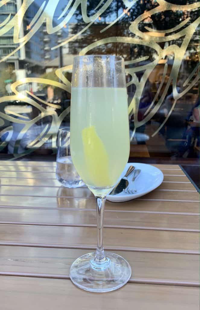 7 Must-Try D.C. Navy Yard Restaurants:  La Lavande Cocktail