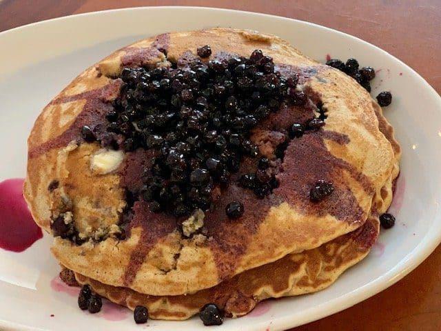 15 Must-Try Sanibel Island Restaurants: Blueberry Whole Wheat Pancakes
