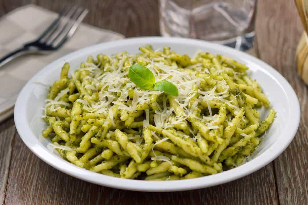 Seven Must-Try Barracks Row Restaurants: Pasta with Pesto