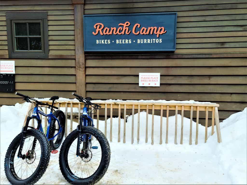 The Best Stowe VT Restaurants:  Ranch Camp Exterior Sign