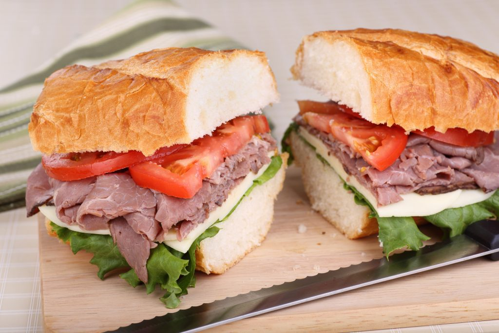 13 Best Restaurants in Lexington: Roast Beef Sandwich