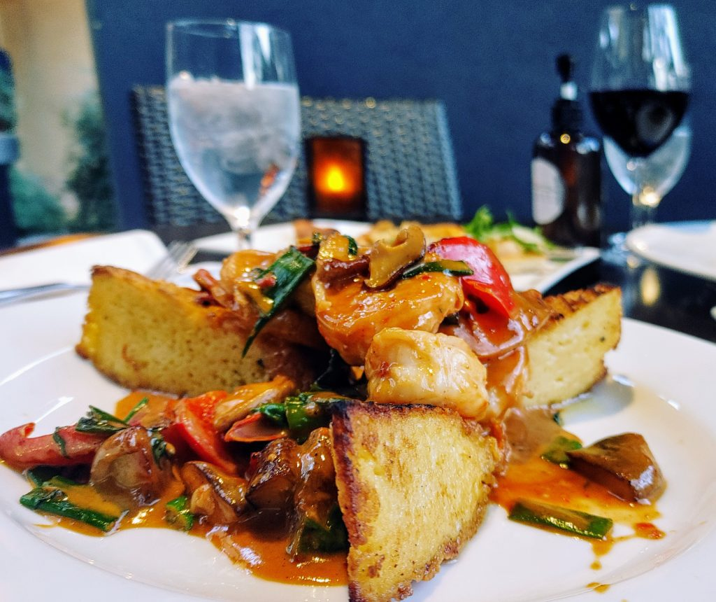 8 Must-Try Danville Restaurants:  Mexican Prawns in a Thai Red Curry Sauce