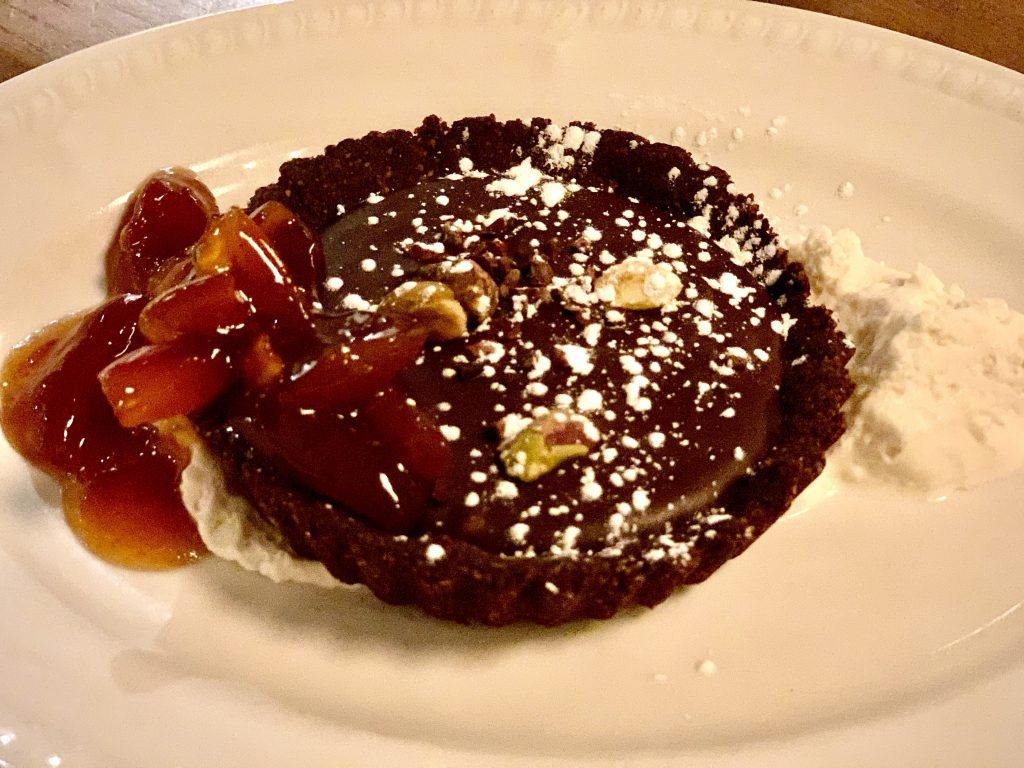 7 Must-Try D.C. Navy Yard Restaurants:   Dark Chocolate Tart