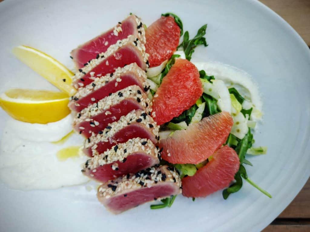 8 Must-Try Danville Restaurants: Seasame Crusted Ahi Tuna