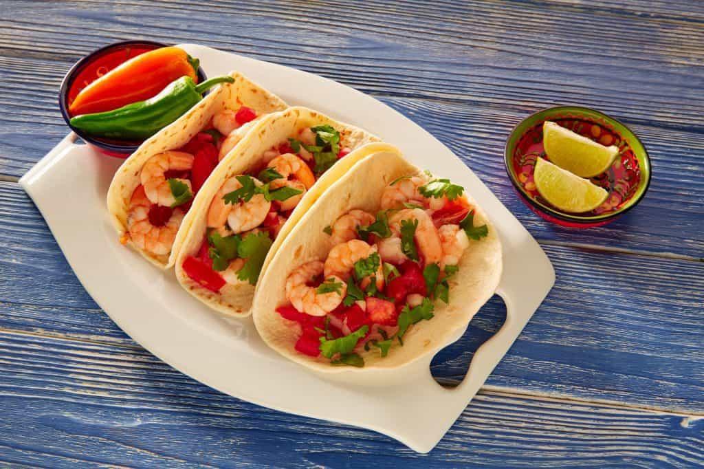 13 Must-Try La Paz Restaurants: Shrimp Tacos
