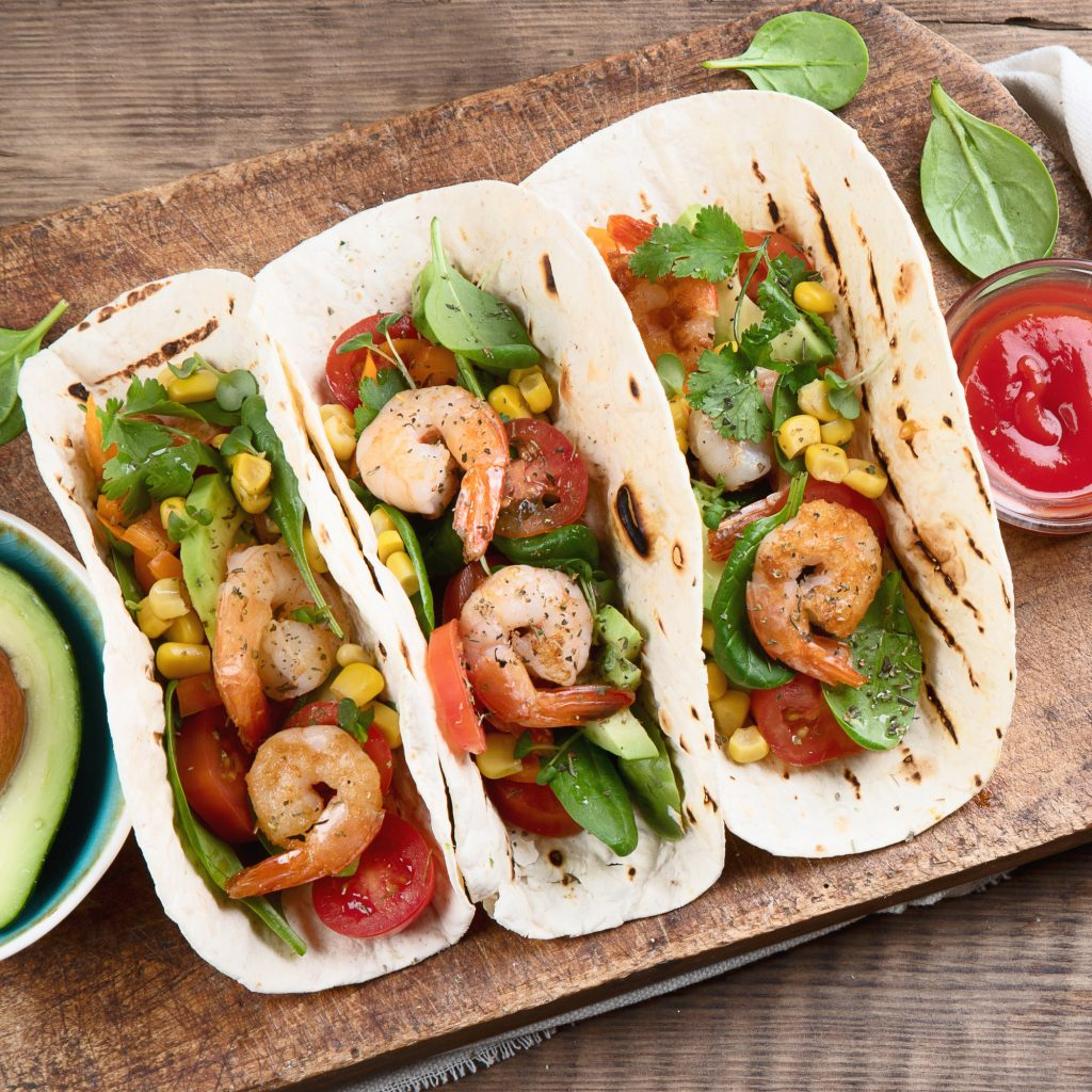 12 Best Cabo San Lucas Restaurants: Cajun Shrimp Tacos