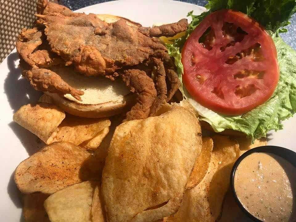 The Best Hilton Head Restaurants:  Soft Shell Blue Crab