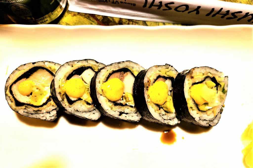The Best Stowe VT Restaurants:  Sashimi Martini