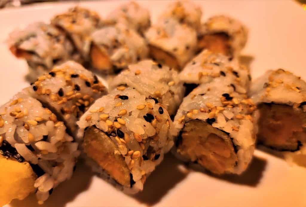 The Best Stowe VT Restaurants:  Sushi Rolls