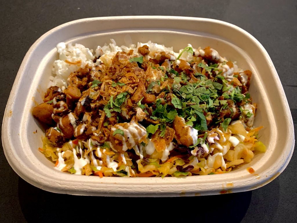 7 Must-Try D.C. Navy Yard Restaurants:   Chicken Bowl With Toppings