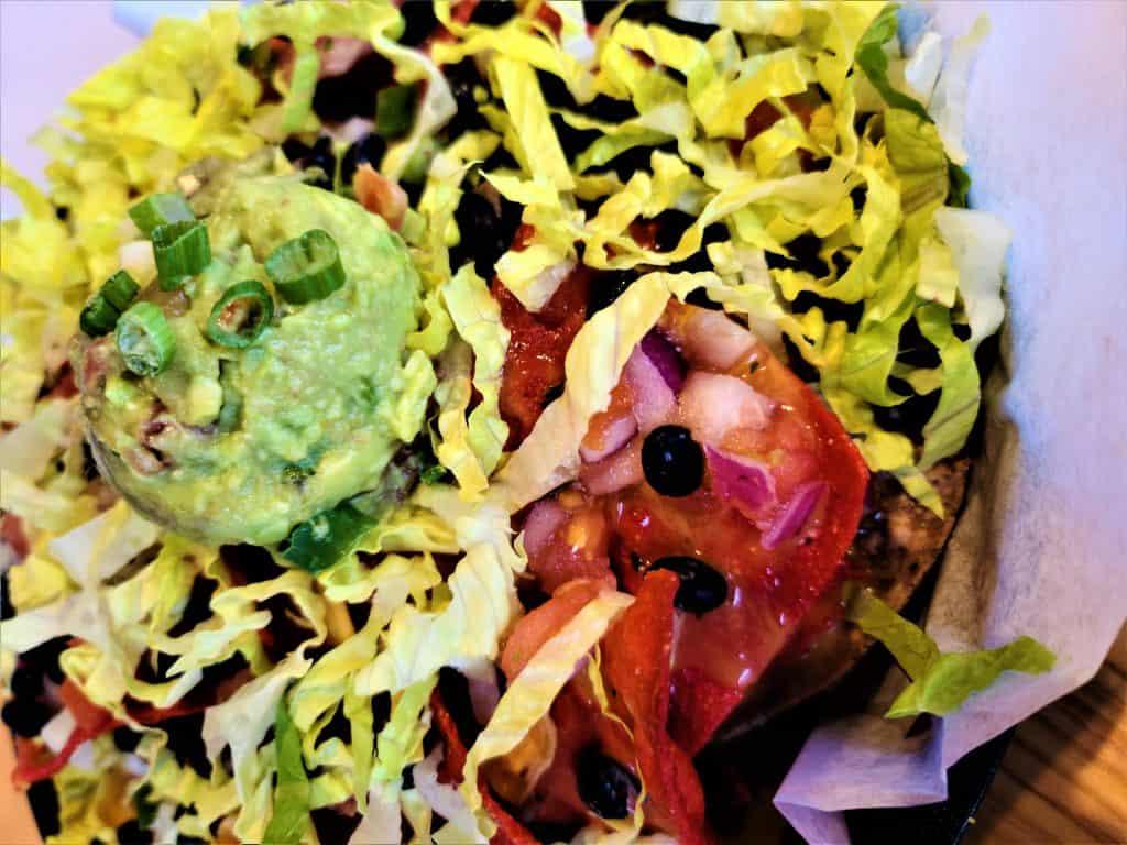 The Best Stowe VT Restaurants:  Vegan Nachos