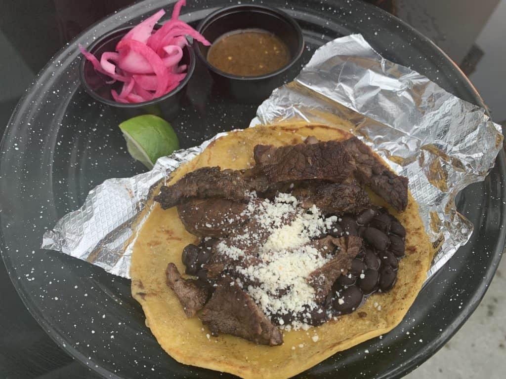 Eleven Great Restaurants On Daniel Island:   Fillet Mignon Tacos
