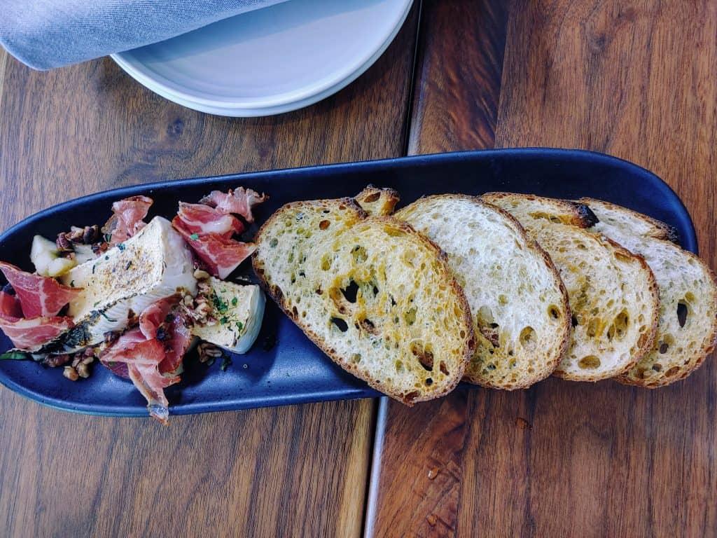 8 Must-Try Danville Restaurants: Warm Brie with Honeyed Apple
