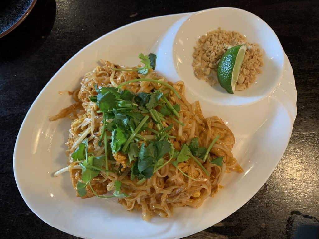 Eleven Great Restaurants On Daniel Island:    Pad Thai