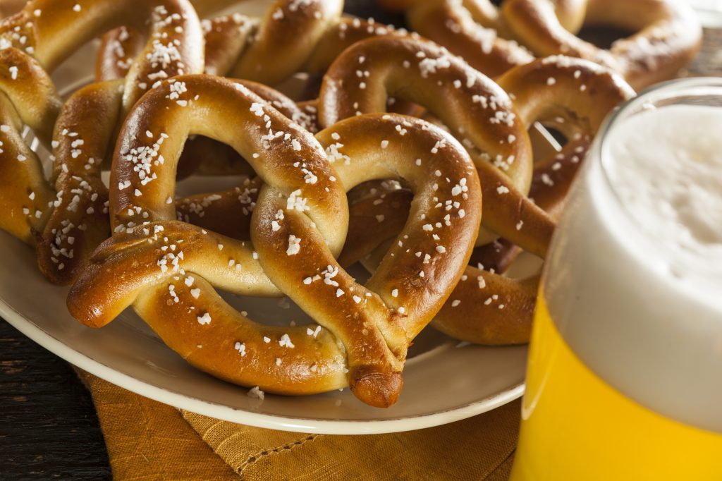 7 Must-Try West Jefferson NC Restaurants Hot Soft Pretzels with Beer