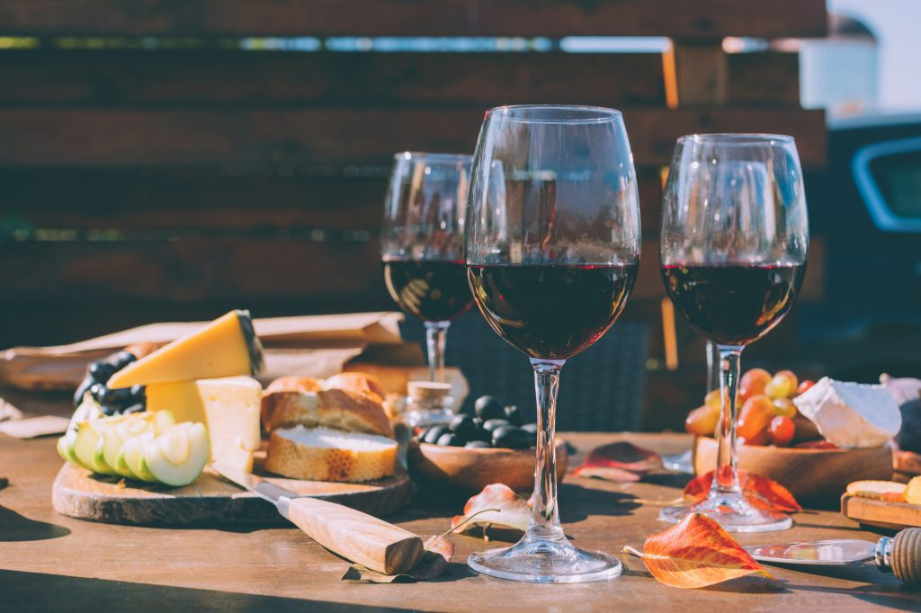 7 Best Banner Elk Restaurants: Wine and Various Cheeses and Food
