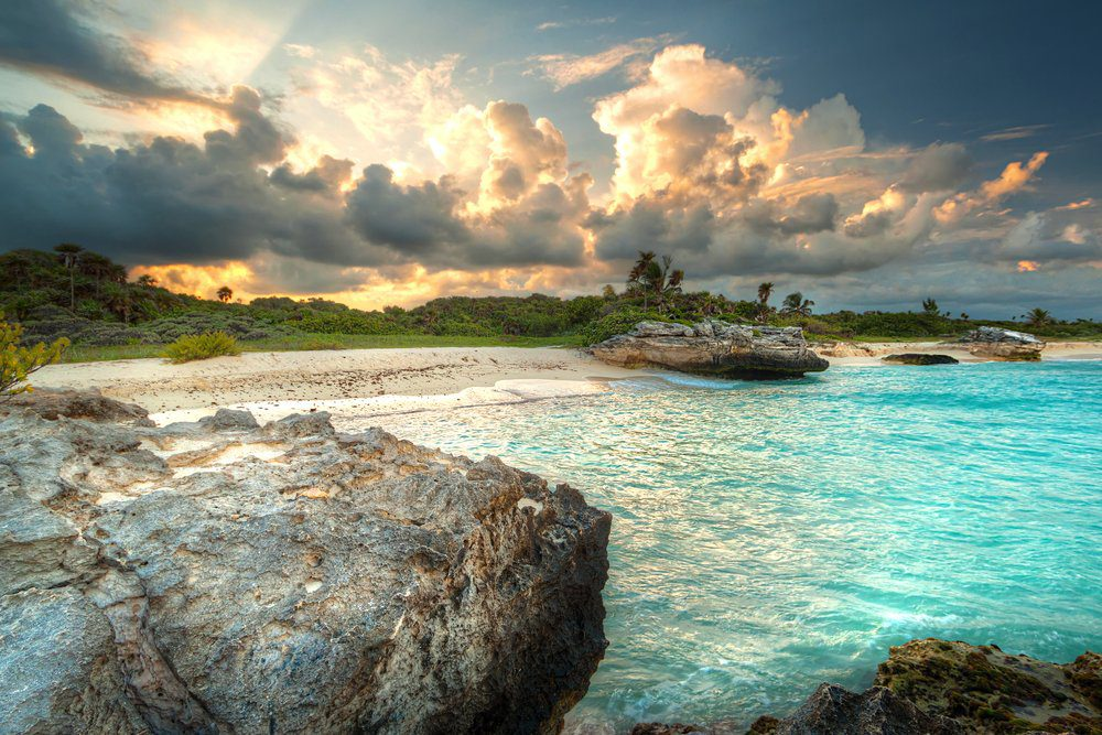 16 Best Things To do In Playa Del Carmen: Amazing sunset, Playa Del Carmen