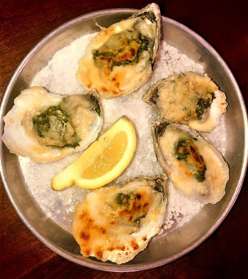 8 Must-Try Downtown Charleston Restaurants: Baked Oysters